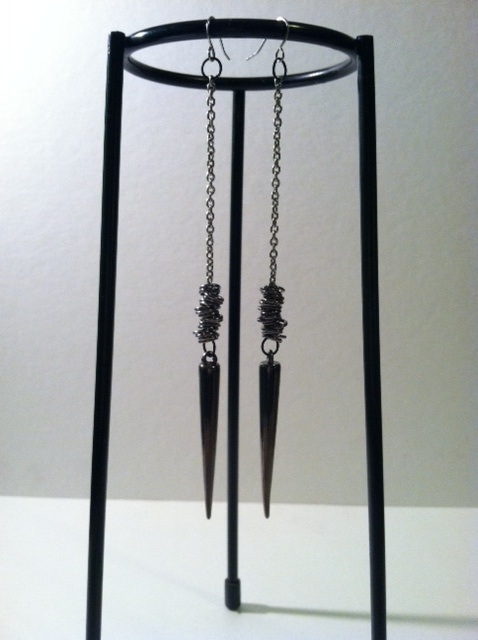 Single Spike Earrings