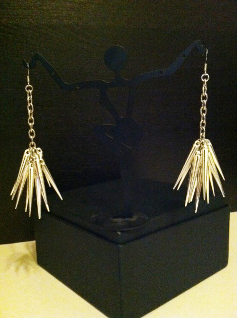 Spike Cluster Earrings